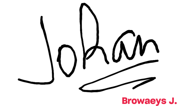 Signature de Browaeys J