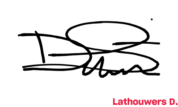 Signature de Lathouwers D