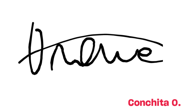 Signature de Conchita O
