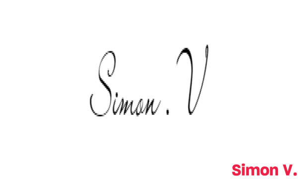 Signature de Simon V