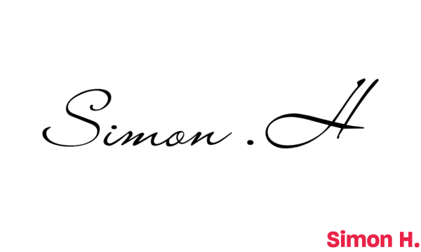 Signature de Simon H