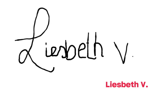 Signature de Liesbeth V